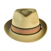 Ridley Toyo Straw Trilby Fedora Hat alternate view 61