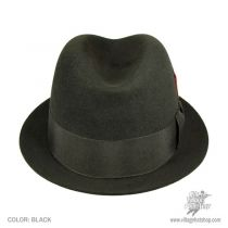 Rude Boy Fur Felt Trilby Fedora Hat
