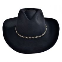 Rawhide Buffalo Fur Felt Western Hat alternate view 2