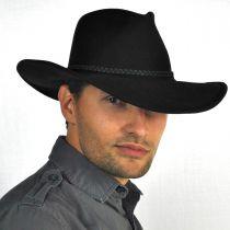 Rawhide Buffalo Fur Felt Western Hat in
