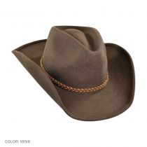 Rawhide Buffalo Fur Felt Western Hat alternate view 8