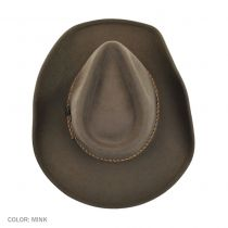 Rawhide Buffalo Fur Felt Western Hat alternate view 45