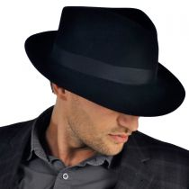 Chatham Fur Felt Fedora Hat alternate view 5