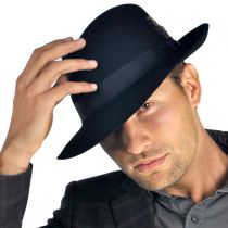 Chatham Fur Felt Fedora Hat alternate view 6