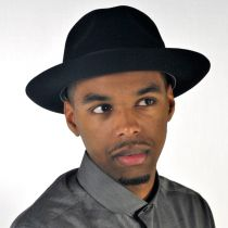 Chatham Fur Felt Fedora Hat alternate view 8