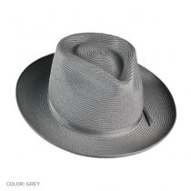 Stratoliner Milan Straw Fedora Hat alternate view 2