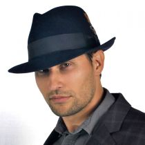 Saxon Royal Fur Felt Fedora Hat in