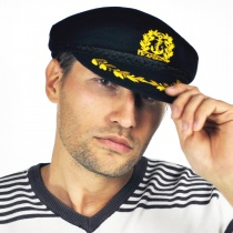 Captain's Wool Cap in