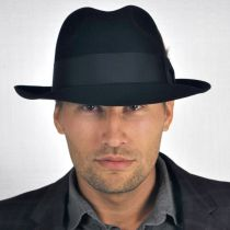 Temple Fur Felt Fedora Hat alternate view 173