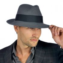 Temple Fur Felt Fedora Hat alternate view 150