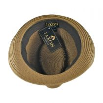 Ridley Toyo Straw Trilby Fedora Hat alternate view 77