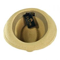 Ridley Toyo Straw Trilby Fedora Hat alternate view 64
