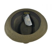 Ridley Toyo Straw Trilby Fedora Hat alternate view 88