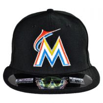 Miami Marlins MLB Home 59Fifty Fitted Baseball Cap alternate view 2