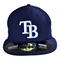 Tampa Bay Rays MLB Game 59Fifty Fitted Baseball Cap alternate view 2