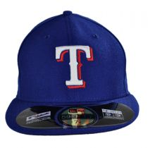 Texas Rangers MLB Game 59Fifty Fitted Baseball Cap in