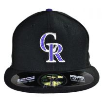 Colorado Rockies MLB Game 59Fifty Fitted Baseball Cap in