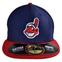 Cleveland Indians MLB Home 59Fifty Fitted Baseball Cap alternate view 2