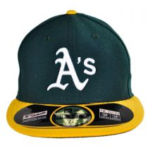 Oakland Athletics MLB Home 59Fifty Fitted Baseball Cap in