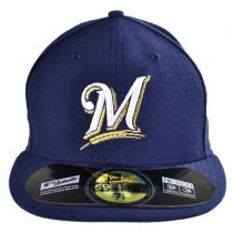 Milwaukee Brewers MLB Game 59Fifty Fitted Baseball Cap in
