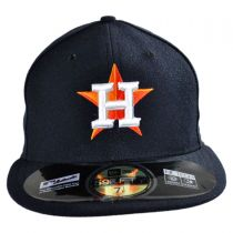 Houston Astros MLB Game 59Fifty Fitted Baseball Cap in