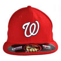 Washington Nationals MLB Game 59Fifty Fitted Baseball Cap alternate view 2