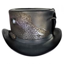 Draco Leather Top Hat alternate view 2
