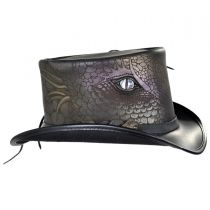 Draco Leather Top Hat alternate view 3