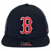 Boston Red Sox MLB Alternate Sure Shot Snapback Baseball Cap in
