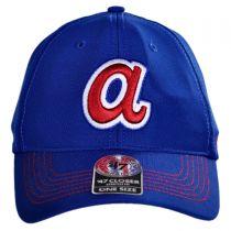 Atlanta Braves MLB GT Closer Fitted Baseball Cap alternate view 2