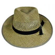 Gwen Straw Fedora Hat in