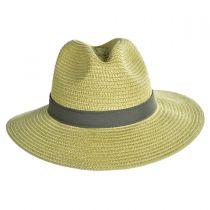 PFG Bonehead Toyo Straw Safari Fedora Hat alternate view 6