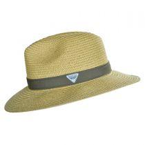 PFG Bonehead Toyo Straw Safari Fedora Hat alternate view 7
