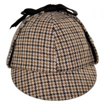 Sherlock Holmes Houndstooth Wool Blend Hat alternate view 6