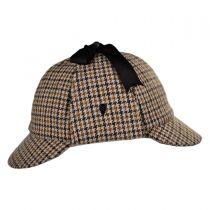 Sherlock Holmes Houndstooth Wool Blend Hat alternate view 15