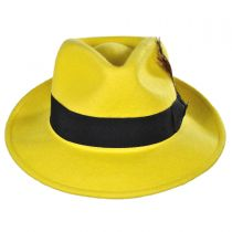 Pachuco C-Crown Crushable Fedora Hat