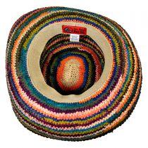 La Playa Raffia Straw Sun Hat alternate view 4