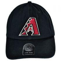 Arizona Diamondbacks MLB Clean Up Strapback Baseball Cap Dad Hat alternate view 2