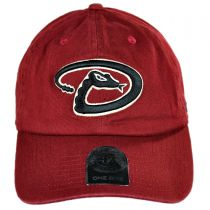 Arizona Diamondbacks MLB Clean Up Strapback Baseball Cap Dad Hat alternate view 6
