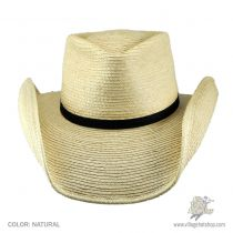 Aussie Tear Drop Guatemalan Palm Leaf Straw Straw Hat