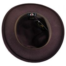 Happy Crushable Wool Felt Fedora Hat