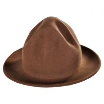 Happy Crushable Wool Felt Fedora Hat