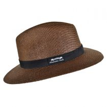 Ribbon Toyo Straw Safari Fedora Hat alternate view 3