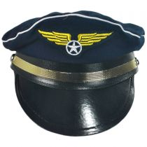 B2B Adult Cotton Pilot Hat alternate view 2