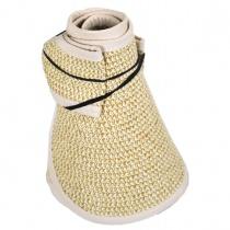 Roll Toyo Straw Braid Visor