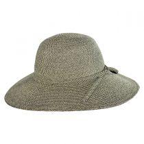 Tweed Toyo Straw Floppy Sun Hat alternate view 3