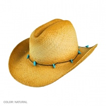 Calamity Straw Cattleman Western Hat alternate view 2