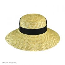 Milan Straw Boater Sun Hat alternate view 4