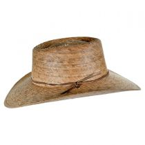 Outback Palm Straw Hat with Chincord in