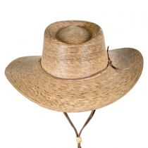 Outback Palm Straw Hat with Chincord alternate view 2